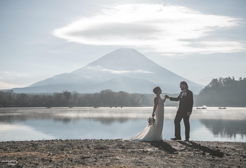 Photo Shooting with Mt. FUJI