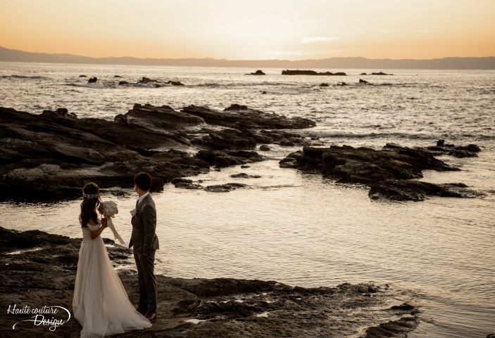 Photo Shooting at the beach and have a ceremony