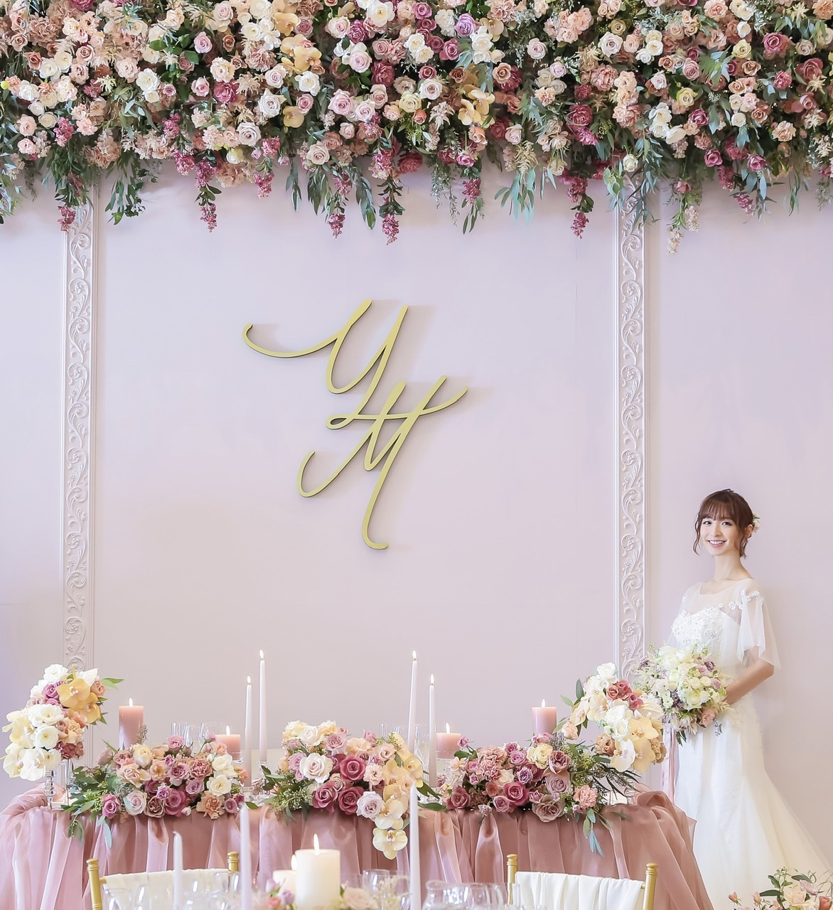 タレント篠田麻里子さんのweddingをオートクチュールデザインがプロデュース致しました!